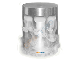 With the Brine nebuliser GPsaltair-V120 there is no salt deposition